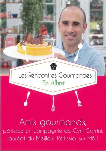 Affiche rencontres gourmandes Albret