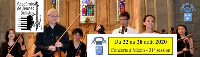 Bandeau Concerts Jeunes Solistes 2020