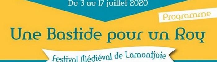 Bandeau Festival Médiéval Lamontjoie