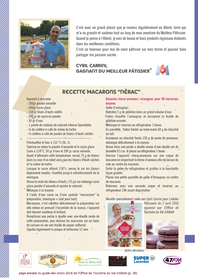 recette-Cyril-Carrini-Macarons-Nerac-Albret-2016