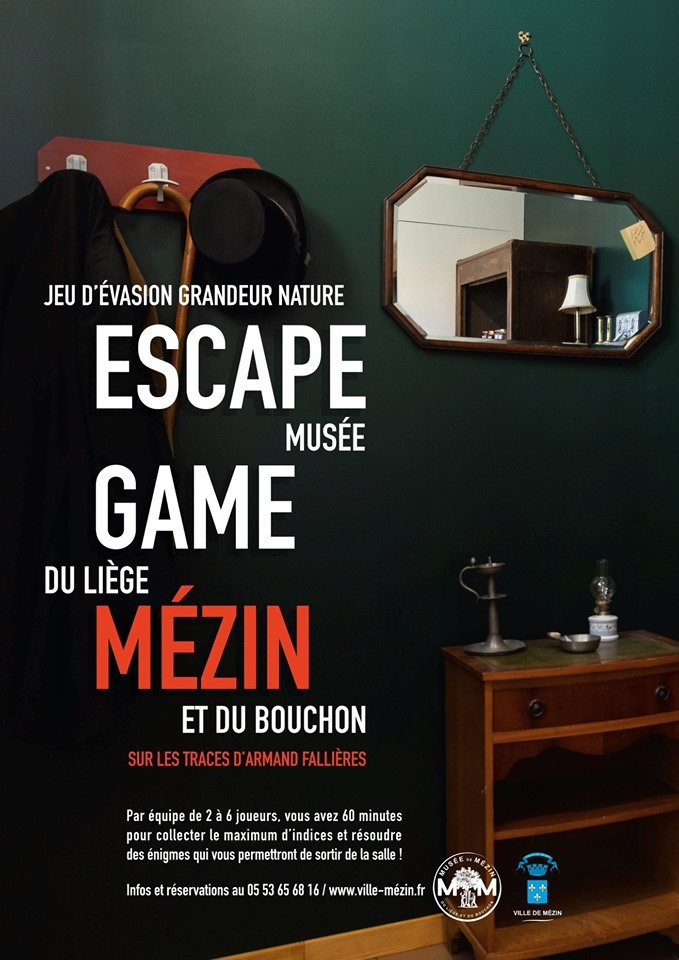 Affiche Escape Game Mézin